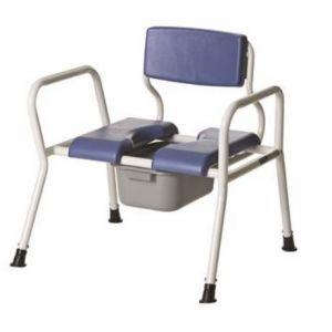 Кресло-туалет повышенной грузоподъемности (325 кг!) Titan LY-2002XXL