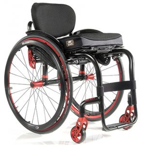 Активная инвалидная коляска Titan Sopur Helium LY-710 (от 6 кг) с принадлежностями