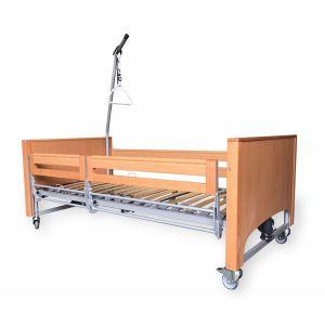Медицинская кровать с электроприводом Vermeiren LUNA с раздельными боковинами
