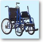 коляска с рычажным приводом
