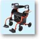 кресло-каталка трансформер, с возможностями ролятора