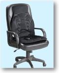 массажная накидка в кресле