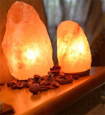 медтехника для дома: соляная лампа