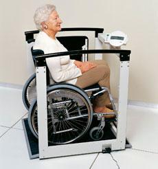 Весы платформа для инвалидов