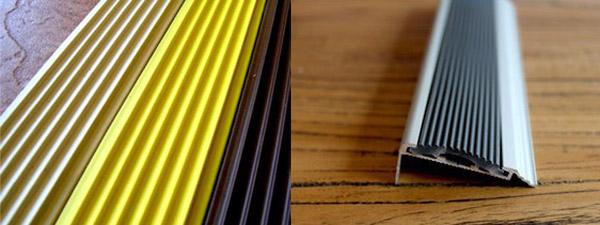Виды тактильной ленты для маркировки ступеней