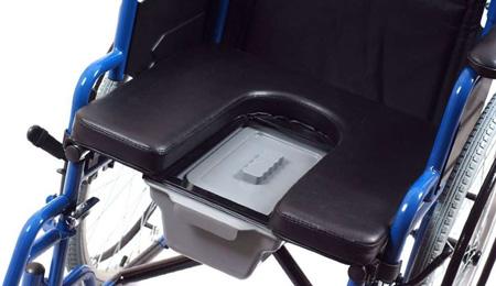 Кресло каталки с санитарным оснащением