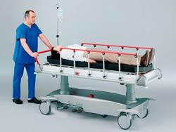 Медицинская тележка каталка функциональная
