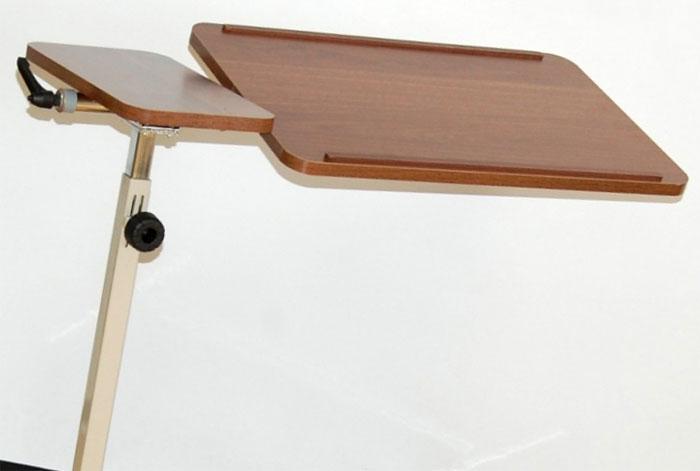 Прикроватный столик медицинский с поворотной столешницей