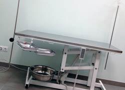 Стол ветеринарный с электроприводом
